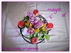 magalì : centrotavola di Pasqua segnaposto e... naturalmente gli Auguri