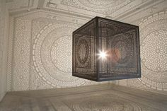 Put a Light Inside This Intricate Cube and Magic Happens  So awesome.  I want one.