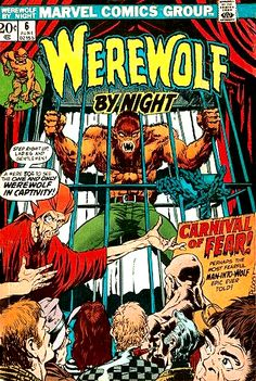 Werewolf By Night #6 Cover Art by Mike Ploog
