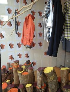 our window display at our chapel st store to celebrate our new autumn collection.