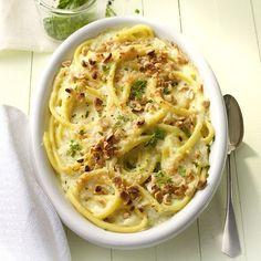 Dat is thuiskomen: Ovenschotel met pasta en kaas