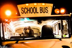 School Bus Wedding Photo | Hoffer Photography Blog