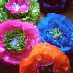 Handmade Giant Double Paper Flowers by Pearl and Earl www.pearlandearl.com Paper Flowers, Bloom, Pearl, Crafty, Rose, Projects, Handmade, Log Projects, Pink