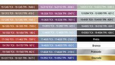 Cartela de cores para o inverno 2018