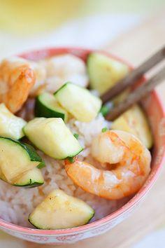 Zucchini and Shrimp Stir-Fry by rasamalaysia #Zucchini #Shrimp #Stir_Fry #Healthy