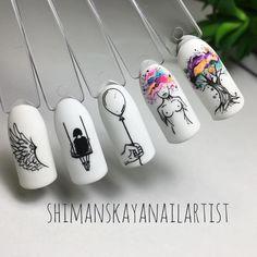 Les Nails, Polygel Nails, Nail Manicure, Swag Nails, Art Deco Nails, Queen Nails, Bridal Nail Art, Nail Art Designs Videos, Nail Art Set