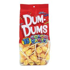 Dum Dums Color Party Yellow Cream Soda Lollipops - Bag of 75 - Karen! Nutter Butter Cookies, Peanut Butter Balls, Peanut Butter Recipes, Chocolate Peanut Butter, Chocolate Coffee, Bulk Candy, Hard Candy, Dum Dums Lollipops, Giant Candy