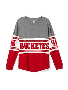Ohio State Hoodies, Tanks & Crews - PINK College Apparel