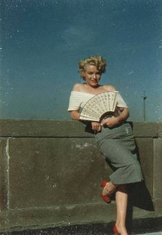 Marilyn Monroe 1952.