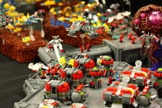 LEGO StarCraft: Terran 1  #Lego #LegoMoc #LegoMocs #Moc #Mocs #Starcraft