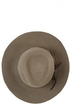 Indiana Felt Hat @Kristen Kyslinger St. Barth