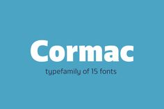 Today you can have Cormac Typefamily Free Demo! This time you will get Cormac Black and Extra-Light. Cormac is a humanist typeface /Volumes/Marketing/_MOM/Design Freebies/Free Design Resources/Typedepot_cormac-family-free-demo_020217