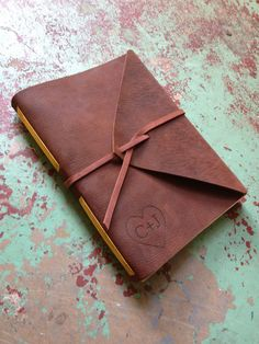 Hey, I found this really awesome Etsy listing at http://www.etsy.com/listing/126646758/medium-leather-journal-personalized-hand