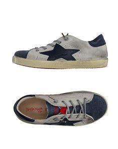Ishikawa Kids' Sneakers In Grey Ishikawa, Kids Sneakers, World Of Fashion, Kids Boys, Luxury Branding, Cleats, Leather, Football Boots, Cleats Shoes