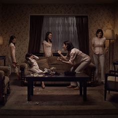 The Cycle of Abuse Illustrated Through Single Photos and Multiple Models