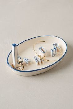 Anthropologie L'Amour Trinket Dish  #anthrofave #anthropologie