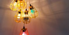 Bright Idea: a DIY Chandelier From Rich Brilliant Willing