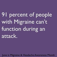 Migraine & Headache Awareness Month 2013 infographic Wow, and sometimes I have t.,Migraine & Headache Awareness Month 2013 infographic Wow, and sometimes I have t. Migraine Home Remedies, Natural Remedies For Migraines, Migraine Pain, Chronic Migraines, Migraine Relief, Chronic Pain, Chronic Illness, Fibromyalgia, Migraine Diet