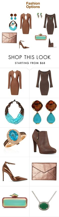 """Fashion Options"" by quasia-taylor on Polyvore featuring Miss Selfridge, Viktoria Hayman, Valentin Magro, LE VIAN, Nine West, Dune, Rebecca Minkoff, Jimmy Choo, Marc Jacobs and fashionWeek"