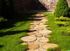 eco friendly materials and backyard landscaping ideas for beautiful walkways and paths diy garden landscaping 22 Ideas for MIxing Materials to Create Beautiful Yard Landscaping and Garden Paths Small Backyard Landscaping, Landscaping With Rocks, Landscaping Ideas, Luxury Landscaping, Landscaping Company, Backyard Ideas, Landscaping Software, Backyard Patio, Desert Backyard