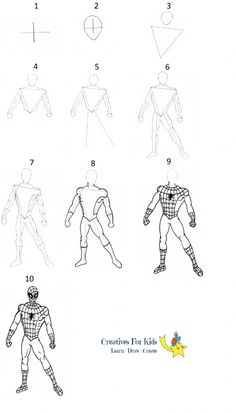 Spider-man's Mask Tutorial by *LostonWallace on deviantART