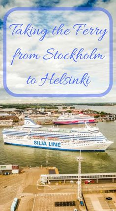 Taking the ferry from Stockholm to Helsinki. The ferry boats that run between these two iconic Scandinavian cities are more than your typical ferries, they are like cruise boats. Complete with cabins of all classes, multiple restaurants, casinos and entertainment for the 14-hour journey by sea. Click to read more at http://www.divergenttravelers.com/taking-the-ferry-from-stockholm-to-helsinki/