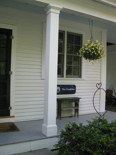 Replacing A Wood Porch Post - A Concord Carpenter