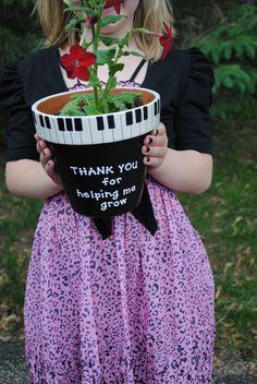 Piano Teacher Appreciation Gift.