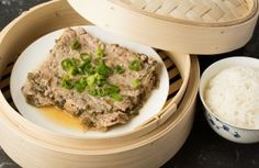 Steamed Minced Pork With Preserved Mustard Greens Food N, Food And Drink, Pickled Mustard Greens, Real Chinese Food, Cantonese Food, Mustard Recipe, Mince Recipes, Asian Recipes, Ethnic Recipes