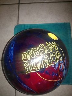 Undrilled Ebonite Optyx Skull 16 Lb Bowling Ball
