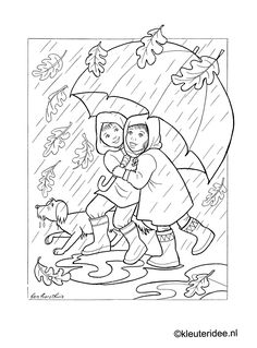 children and coloring page 9
