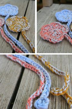crochet bookmarks. How cool and simple!!