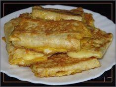 Быстрый и вкусный завтрак за 5 минут — лаваш с сыром в яйце!