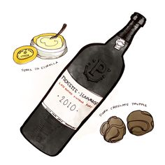Classic pairings with LBV (Late Bottled Vintage) Port Wine. #foodandwine