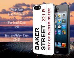 Sherlock Address Baker st 221b Samsung Galaxy by MasterInnovation, $13.79
