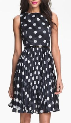 belted fitted fit and flare dress