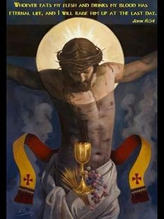 We believe in the true and real presence of Christ in the Eucharist; Body, Blood, Soul and Divinity of Christ for 2000 years! Image Jesus, Jesus Christ Images, Religious Images, Religious Art, Catholic Art, Roman Catholic, Blood Of Christ, Religion Catolica, Jesus Christus