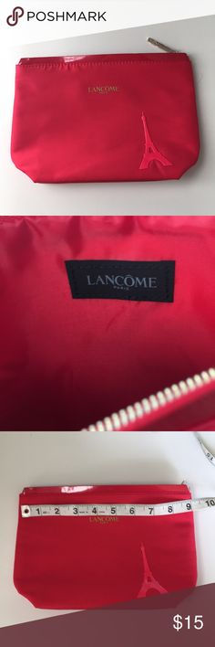 💃🏻 5 for $25! Lancôme Cosmetic Bag This item is part of the 5 for $25 deal (look for the 💃🏻 for other eligible items in my closet). Brand New! Sephora Bags Cosmetic Bags & Cases