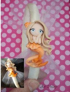 ADORABLE;;; Headband mermaid fimo polymer clay by Artmary2 on Etsy, €10.00