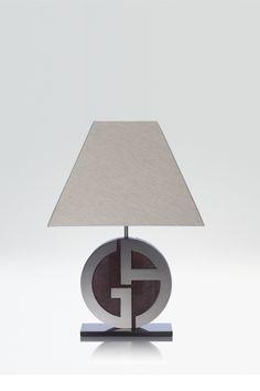 Armani Casa Armani Home, Desk Lamp, Table Lamps, Pent House, Lighting Design, Interior, Crying, Furniture, Happiness