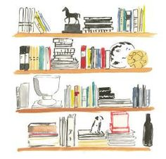 How to Decorate with Books--by Deborah Needleman, from The Perfectly Imperfect Home  {love her stuff!}