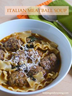 You already know how good soup is for you. Italian Meatball Soup is delicious, easy to make, and super affordable.