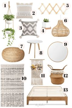 Boho Bedroom Ideas From Amazon #boho #bedroom #diy #bohobedroomdiy Boho style is about creating a space that is unique to you. Check out the best and budget-friendly boho bedroom decor options all from Amazon! Boho Bedroom Decor, Room Design Bedroom, Boho Room, Small Room Bedroom, Room Ideas Bedroom, Home Bedroom, Bedroom Wall, Boho Style Decor, Bedroom Rugs