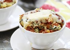 Baked Lasagna Casserole.  This looks so yummy!
