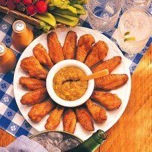 Recipe: Onion Petals and Dipping Sauce (deep fryer) - Recipelink.com