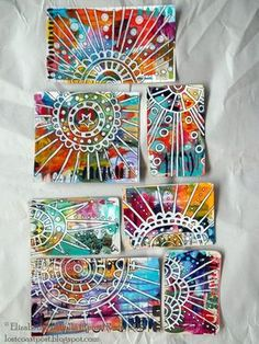 Elizabeth Michelle Remy. Lost Coast Post: ICAD 2015: Cards 36 - 42. Thanks Pinterest for leading me to this fantastic blog.