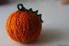 Yarn Ball Pumpkin