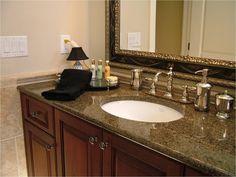 Image On Prefab Granite Bathroom Vanity Tops
