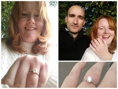 Sarah and Jorge chose her gorgeous ring together!