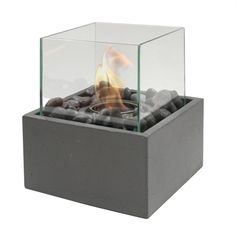 Shop Paramount Square Concrete Garden Burner at Lowe's Canada. Find our selection of fire pots & gel lanterns at the lowest price guaranteed with price match. Outdoor Fire, Outdoor Tables, Outdoor Living, Fire Pit Images, Wood Tool Box, Patio Lanterns, Fire Pots, Glass Fire Pit, Citronella Candles